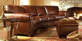 leather sectional sofa traditional. Beautiful Traditional Traditional Curved Leather Sectional Sofa New Dfs Intended G