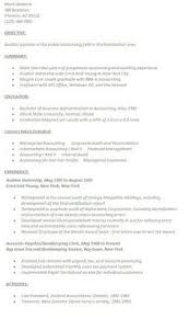 accountant resume template template sample junior accountant resume