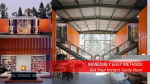 Homes Built From Shipping Containers Average Cost To Build A Shipping Container Home Youtube