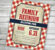 Family Reunion Invitation Letter Template 25 Family Reunion