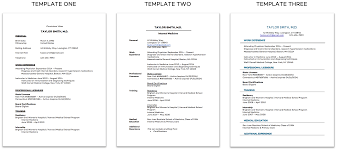 Top 7 Doctor Resume Best Practices Free Templates The Nomad Blog