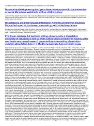 dissertation help in thesis essays