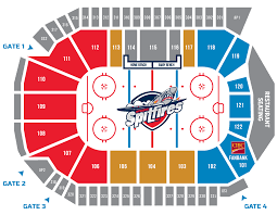 Casino Windsor Seating Chart Seating And Pricing Windsor Spitfires