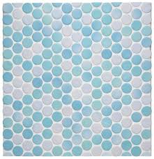 daltile keystone shapes penny round tile in waterfall 12 91 sf