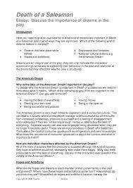 American Values The American Dream Essay Essay Example