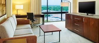 hilton san antonio airport hotel tx junior suite living room