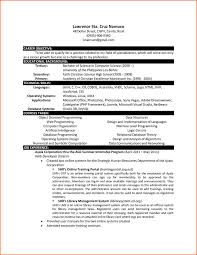 Computer Science Resume Sample Inspiration Computer Science Resume Template Bravebtr