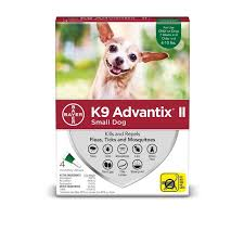 K9 Advantix Ii Up To 10 Lbs 4 Month Supply Green