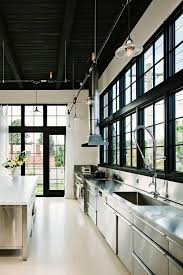 industrial track lighting systems. Industrial Track Lighting With Contemporary Ceiling Tiles Kitchen And Wood Floors Systems