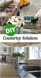 Creative Diy Countertops 149 Best Counter Tops Images On Pinterest