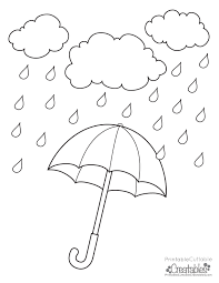 Small Picture Fresh Rainy Day Coloring Pages 99 About Remodel Picture Coloring