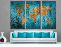 dark blue abstract wall art
