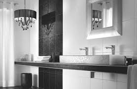 Red Accessories For Spirited Bathroom Decoration Fancy Accessories - Modern bathroom chandeliers