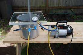 vacuum chamber from pressure cooker