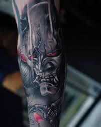 Hanni Mask Japonské Tetování Japonské Tetování Tetování A Tatoo