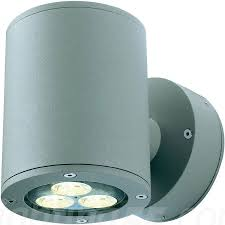 Sitra Wall UpDown Outdoor Light By SLV Lighting At Lightingcom - Up and down exterior wall lights