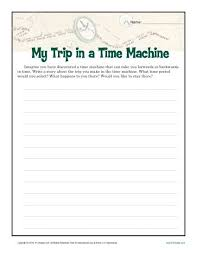 my time machine trip creative writing prompt for th th grade my trip in a time machine writing prompt