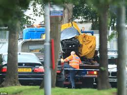 Four young men killed in BMW crash had overtaken police cars before ...