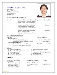 Updated Resume Examples Mesmerizing Updated Resume Format Free Download Or Educational Attainment