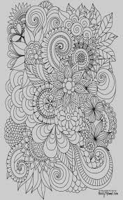 Coloring Adult Coloring Pages Flowers Abstract Colouring Detailed