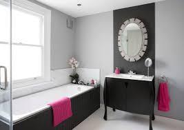 Image Tile Bathroom Pinkaccented Transitional Bathroom Freshomecom 10 Ways To Add Color Into Your Bathroom Design Freshomecom
