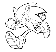 Ideas Collection Sonic Shadow Coloring Pages Online For Runs Kids