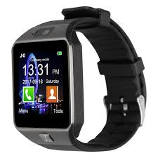 <b>M18</b> GPS <b>Smart Watch</b> Phone With Camera SIM Card Slot Black for ...