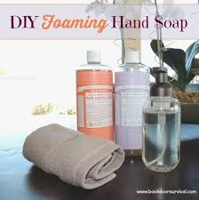 been wondering how to make foaming hand soap this tutorial includes directions for how to make the