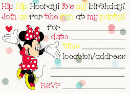 Free Minnie Mouse Invitations Print Now Frugal Fanatic