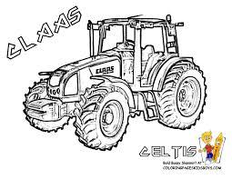 Dessin A Imprimer Tracteur Claas L