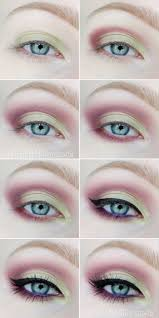 pistacje z fioletem step by step makeup in 2019 makeup beauty makeup eye makeup