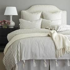 black and white striped duvet. Plain Striped Ticking Black And White Stripe Duvet With And Striped