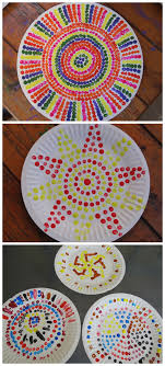 painting activity for kids dot painting