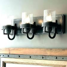 rustic vanity light industrial farmhouse bathroom fixtures lighting cage 2 industrial vanity light fixtures cage