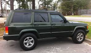 file jeep cherokee xj 4 door nc green side jpg