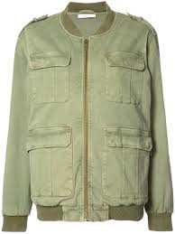 anine bing army jacket green women clothing er jackets anine bing