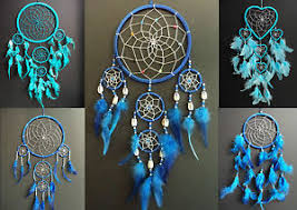 Where To Buy Dream Catchers In Singapore BLUE DREAM CATCHER BOYS GIRLS NEW GIFT UK DREAMCATCHER LARGE 96