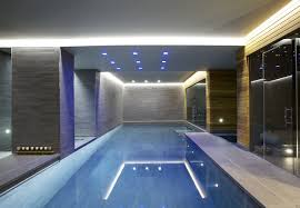 Indoor Outdoor Pool Residential Captivating Indoor Swimming Pool Design With White Ceiling