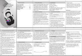 Ihip Bluetooth Headphones Light Up 8b018bt Bluetooth Headset User Manual Ipledbthp 5 17