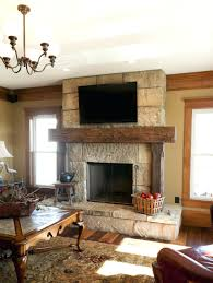 rustic wooden fireplace mantel wood fire surrounds reclaimed mantels