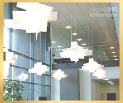 oversized chandelier