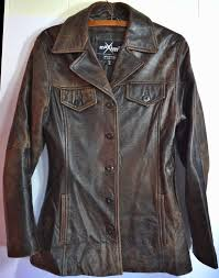 wilsons leather maxima womens distressed brown boho soft leather wilsons leather maxima womens distressed brown boho soft leather jacket size m
