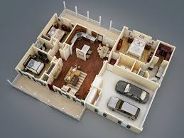 Sutherlin Small Ranch   Bedrooms and   Baths   The House     D Floor Plan