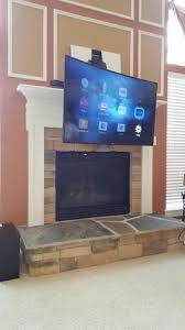 tv wall mounting charlotte nc 4k ultra hd curved tv install tv above fireplace hanging tv