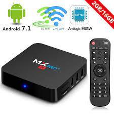 MX PRO+ 4K Android TV Box, 7.1 2GB Ram