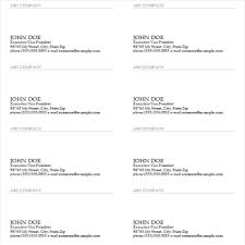 business cards templates microsoft word useful ms excel and word templates for business owners