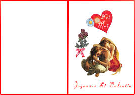 Carte De St Valentin Carte St Valentin A Imprimer