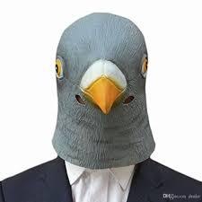 Giant Masquerade Mask Decoration Wholesale Party Decorations Bird Mask Pigeon Mask Latex Giant Bird 56