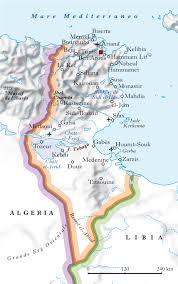 Tunisia In Atlante Geopolitico