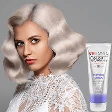 Farouk Chi Hair Color Chart Chi Ionic Color Illuminate Conditioner Silver Blonde
